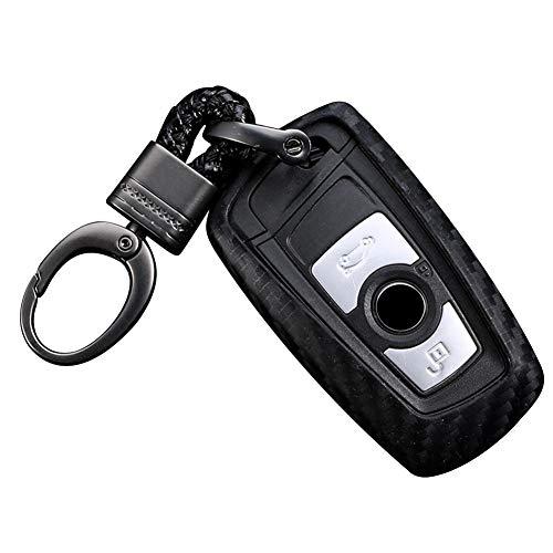 Autoschlüssel Hülle,Auto Schlüssel Schutzhülle,Keyless Schlüssel Schutzhülle,Schlüsselhülle Cover Auto Für BMW F05 F10 F20 F30 Z4 X1 X4 X5 X6 Neu X7 Zubehör Car-Styling