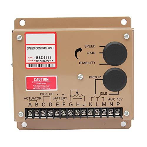 Governor del controlador electrónico de velocidad del motor ESD5111 Generador de piezas...