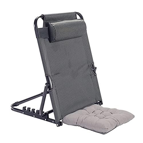 Sillón de salón Plegable Relax, tumbonas reclinables para Acampar Plegables con Respaldo Alto Ultraligero para aliviar el estrés y la Fatiga