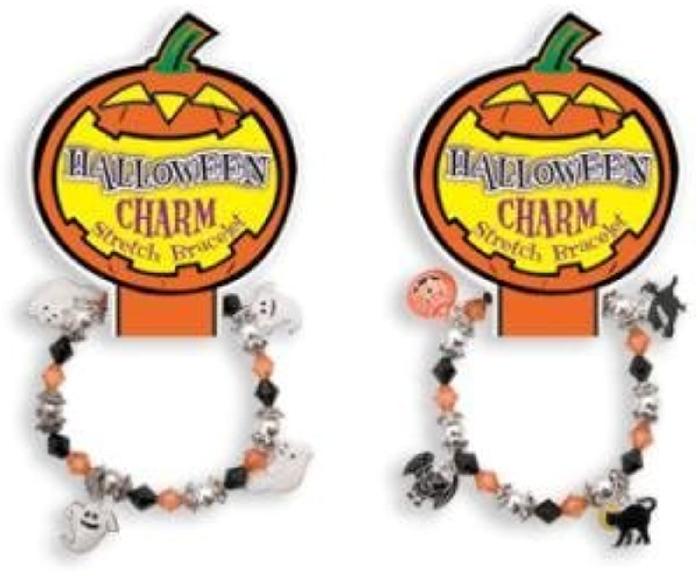 barato en línea Halloween Stretch Charm Bracelet Bracelet Bracelet by DM Merchandising  El ultimo 2018
