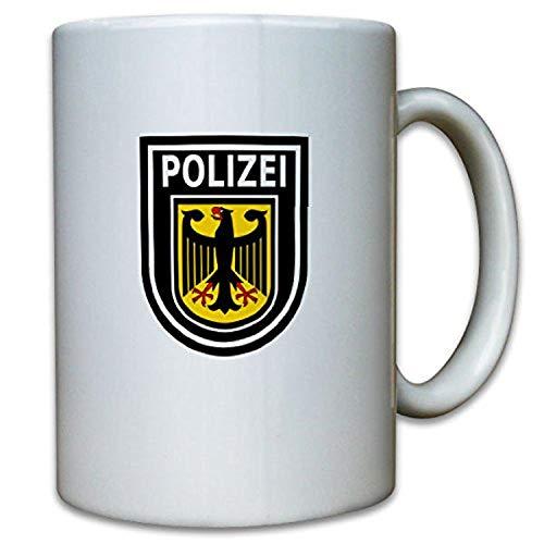 Bundespolizei Abzeichen Wappen BPOL Sonderpolizei Bundes Adler - Tasse #9792