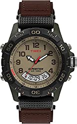 top rated Timex T45181 Expedition Resin Men's Brown / Green Nylon Watch 2021