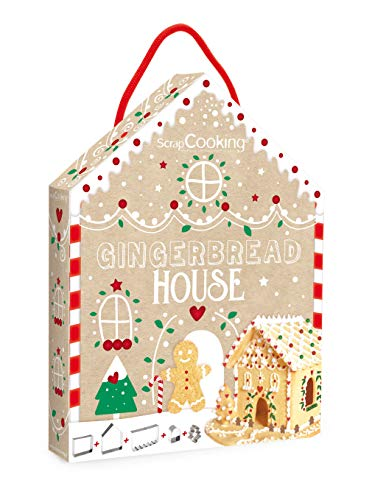 ScrapCooking 3975 - Kit di tagliapasta per casa di marzapane, Inox Multicolore, 26,5 x 20 x 4 cm