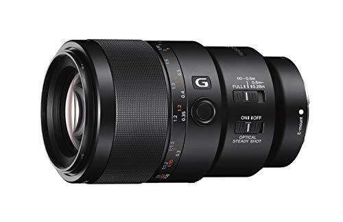 Sony FE 90 f/2.8 G - Full-Frame, Macro, Rango Medio, Objetivo Prime (SEL90M28G)