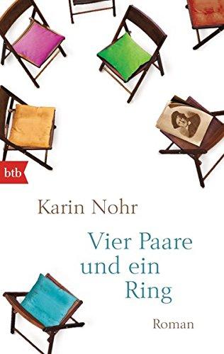 Buchseite und Rezensionen zu 'Vier Paare und ein Ring: Roman' von Karin Nohr