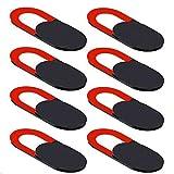 sweguard Webcam Abdeckung Laptop, Webcam Cover (8 Stück) 0.70mm Ultra dünne passt Echo Spot Smartphones Tablets Macbooks Computer