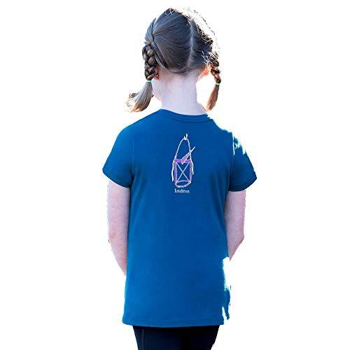 Irideon Kinder Einhorn Tee Lg-Baltic Blue
