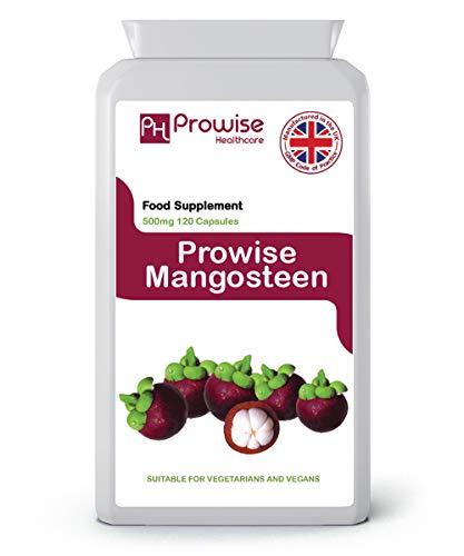 Mangostán 500mg 120 Cápsulas-Superalimento Suplemento