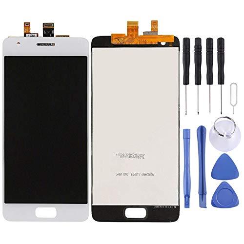 De Galen Accessory Kits - Pantalla LCD y digitalizador para Lenovo ZUK Z2 (color: blanco)