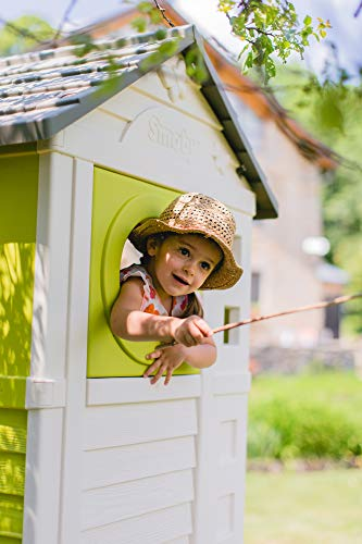 Smoby – Stelzenhaus - Spielhaus mit Rutsche, XL Spiel-Villa auf Stelzen, mit Fenstern, Tür, Veranda, Leiter, für Jungen und Mädchen ab 2 Jahren - 11