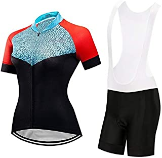 BEESCLOVER Women Cycling Set Bike Jersey Shorts Summer Mountain Bike Clothing Bicycle Top Bottom Maillot Ropa Ciclismo Team Green