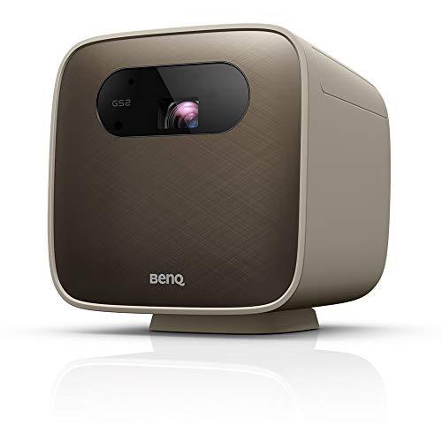 BenQ GS2 LED-Projektor, kabellos, tragbar, für den Außenbereich, Bluetooth-Lautsprecher, IPX2, HDMI, USB-C