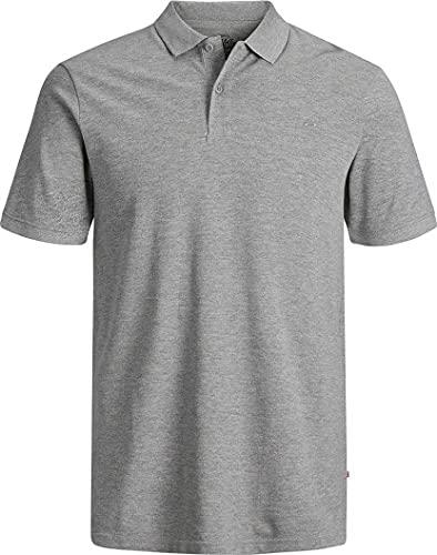 Jack & Jones Jjebasic Polo SS Noos - Camiseta para Hombre, Blanco , Talla XL