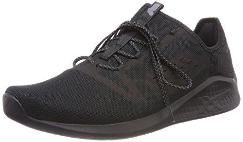 Asics Fuzetora, Zapatillas de Running Hombre, Negro (Black/Black/Carbon 9090), 41.5 EU