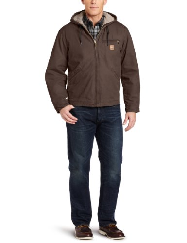 Men's Sandstone Sierra Jacket/Sherpa Lined