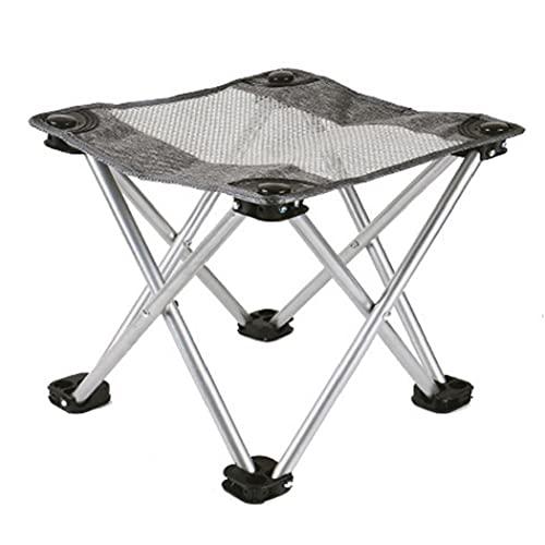 Naisicatar Chaise De Tabouret Pliant Plage pour Camp De Pêche Extérieur De Randonnée De Randonnée Barbecue L