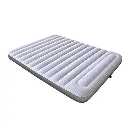Best Review Of JLDN Inflatable Airbed with Hand Pump, Air Mattress Inflatable with Comfortable Top E...