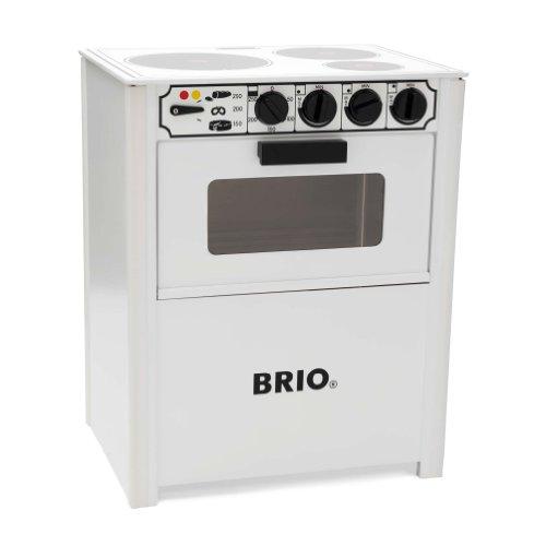 BRIO 31357001 - Piastre e Forno, Colore: Bianco
