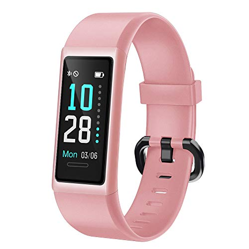 Willful Orologio Fitness Uomo Donna Smartwatch Cardiofrequenzimetro da Polso Contapassi Fitness Tracker con Cronometro Sveglia Impermeabile IP68 per Corsa Sport Smart Watch Android iOS Compatibile