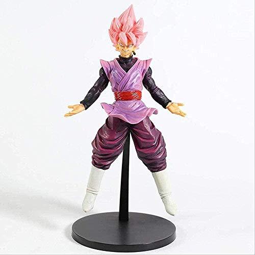 HFKUYK-123 Regalo Dragon Ball Z Rose Goku Black Zamasu Super Saiyan 4 Vegeta Dokkan Battle PVC Figura de acción de colección Modelo de Juguete 25cm LJP36