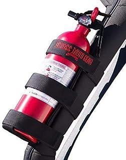 Badass Moto Fire Extinguisher Mount for Jeep Wrangler Roll Bar - Easy 1 Min. Install with No Tools For JK JKU JL TJ CJ. St...