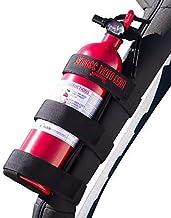 Badass Moto Fire Extinguisher Mount Compatible with Jeep Wrangler 1965-2021 JK JKU JL TJ CJ Roll Bar. Easy 1 Min. No Tools...