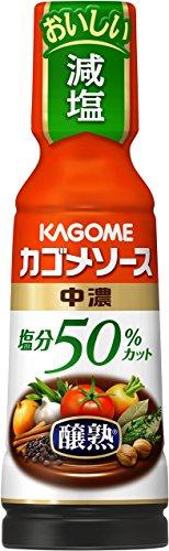 カゴメ 醸熟ソース 塩分50