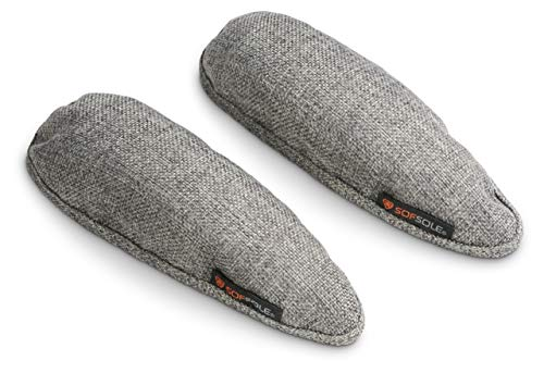 Sof Sole Natural Deodorizing Inserts for Shoes, Boots, Closets, and Gym Bags (1 Pair)
