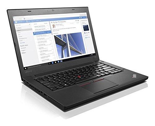 """Lenovo ThinkPad T460 Business Class Ultrabook 20FM (14"""" HD Display, i3-6100U 2.3GHz, 4GB RAM, 500GB 7200rpm, Webcam, Bluetooth, Window 10 Pro 64)"""