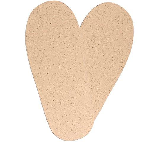 1 Paar Microkork Decksohle für Barfuß Schuhe Huarache Sandalen hautfreundlich und saugfähig