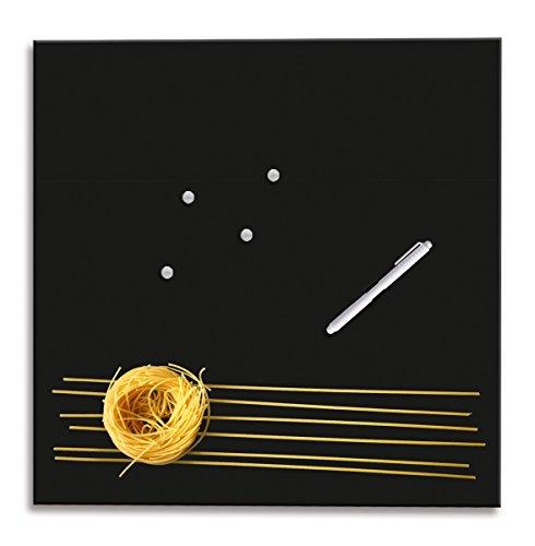 Eurographics MBDT7212 Memo Board, Magnet und Schreibtafel aus Glas, Pasta Everyday 50 x 50 cm