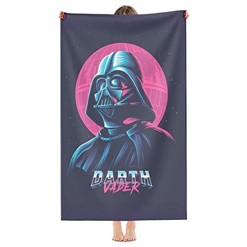 Darth Vader Toalla de playa de microfibra de secado rápido, súper absorbente, para viajes, piscina, baño, camping, yoga, niñas, mujeres, hombres, adultos