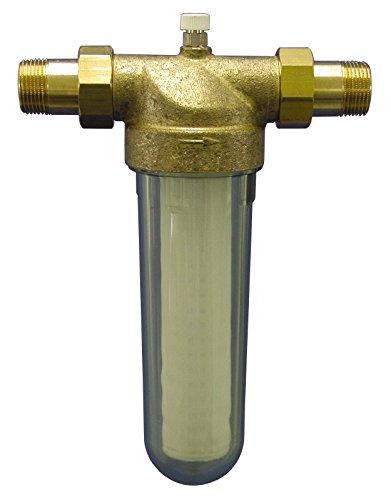Sanitop-Wingenroth 14322 6 2 Außengewinden, AV-16 Hauswasserfilter 1 Zoll