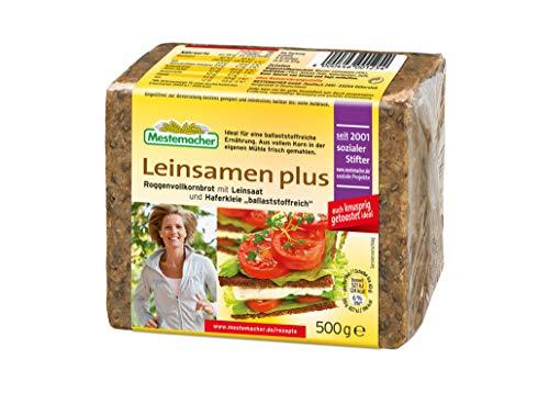 Mestemacher Leinsamen plus Roggenvollkornbrot mit Leinsaat 500 g