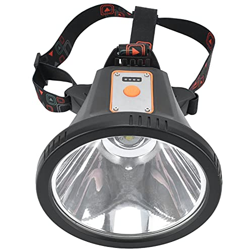Semiter Lámpara de Cabeza, diseño Profesional Lámpara de Cabeza LED Recargable Varios Modos de iluminación para Acampar para inspecciones para Amigos