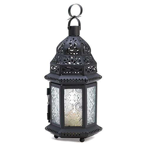 10 Wholesale Clear Glass Moroccan Lantern Wedding Centerpieces