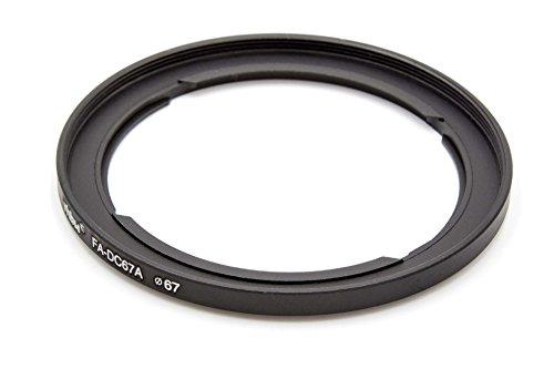 vhbw Filter-Adapter schwarz kompatibel mit Kamera Canon PowerShot SX540 HS, SX530 HS, SX520 HS, SX60 HS, SX50 HS Ersatz für Canon FA-DC67A, 4728B001