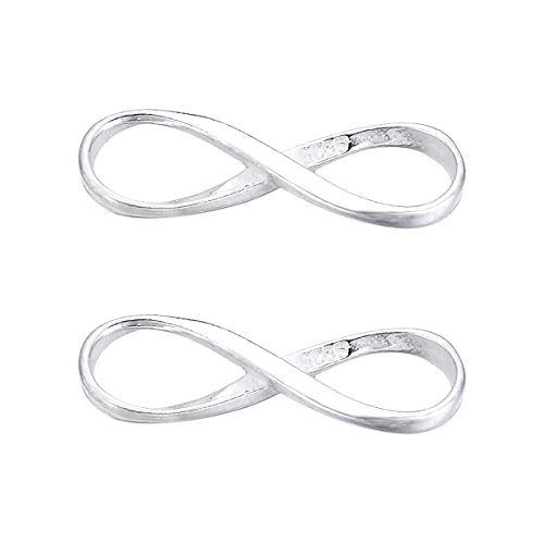 Stainless Steel Infinity Connectors Links 5pcs