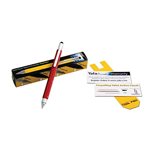 Monteverde USA One Touch Tool Stylus, 0.9 mm Pencil, Red (MV35253) Photo #2