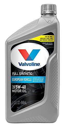 Valvoline European Vehicle Full Synthetic SAE 5W-40 Motor Oil 1 QT