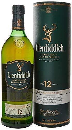 Glenfiddich Glenfiddich 12 Years Old Single Malt Scotch Whisky 40% Vol. 1L...