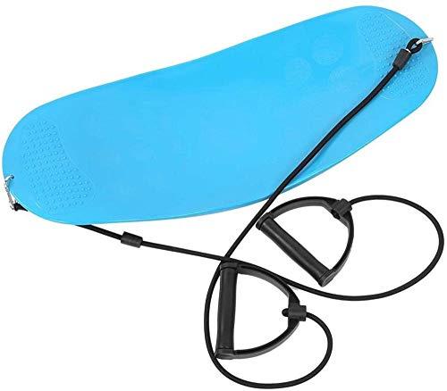 rRb Yoga Twisting Balancing Board Assist Training Ejercicio Herramientas Gimnasios Equipo de Fitness para el hogar con Cuerda de tracción portátil Muy práctico, fácil de Llevar y Usar