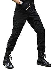 BWBIKE Pantalones Tácticos Militares para Hombres con Rodilleras Pantalones De Trabajo De Combate