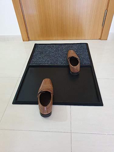 Aido - Alfombra Limpia Zapatos – felpudos Entrada casa – Alfombra desinfectante – Felpudo – Felpudo desinfectante – Felpudo desinfectante Zapatos – 100% fabricación en ESPAÑA.
