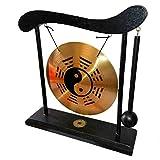 lachineuse Gong sur Socle - Symbole Zen Yin Yang