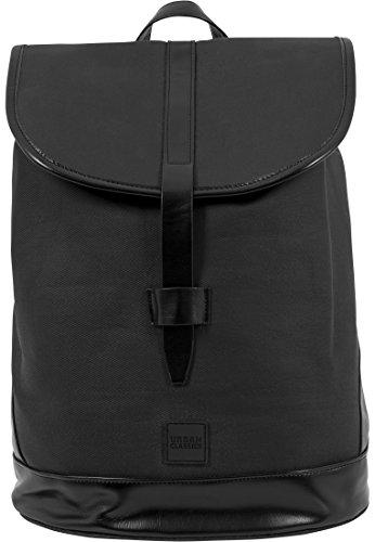 Urban Classics Topcover Backpack Rucksack, 38 cm, 15 L, Black