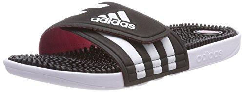 adidas Damen Adissage W Dusch- & Badeschuhe, Schwarz (Core Black/FTWR White/super Pink F15), 47 1/3 EU
