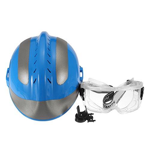 MASUNN Rescate Casco Bombero Gafas Protectoras China Capf Protector De Seguridad F2 Azul