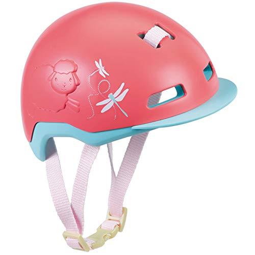 Baby Annabell Active Fahrradhelm für 43cm Puppe - Schutz für die Puppe - Einfach für Kleine Hände, Kreatives Spiel fördert Empathie & Soziale Fähigkeiten, für Kleinkinder ab 3 Jahren