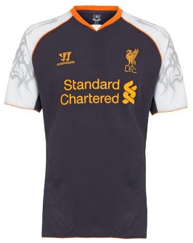 WARRIOR Liverpool - Camiseta de fútbol y Fans, tamaño M, Color Morado Oscuro